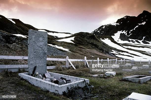 Subantarctica South Georgia Grave Of Ernest Shackleton Antarctic Explorer
