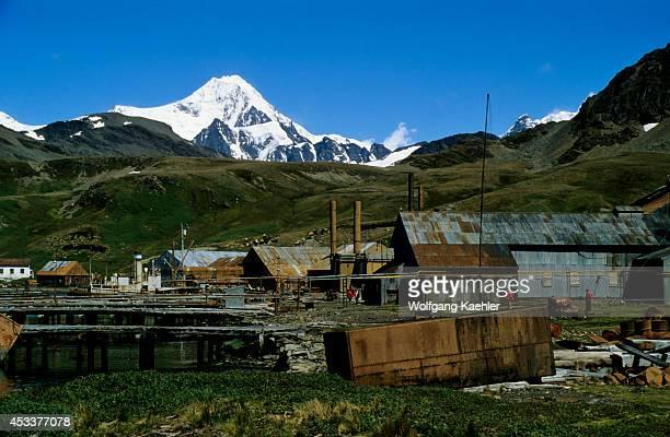 Subantarctica South Georgia Grytviken Old Whaling Station