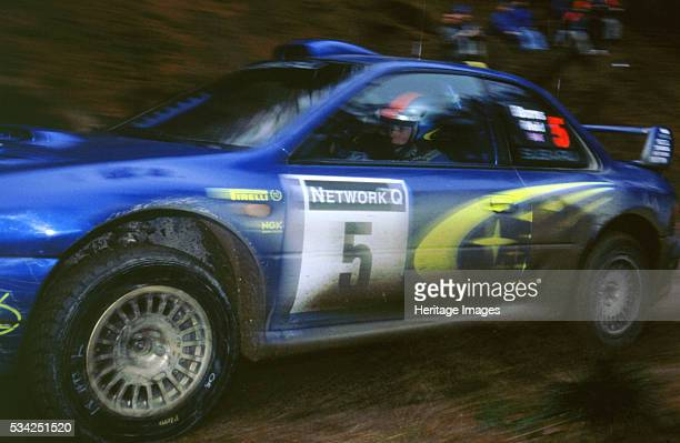 Subaru Impreza driven by Burns Network Q 2000