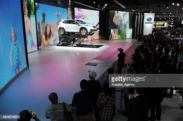 Subaru Viziv Pictures And Photos Getty Images