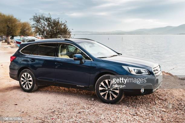 subaru outback - outback stock pictures, royalty-free photos & images