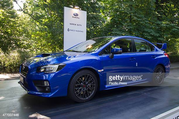 Subaru WRX STI Parco Valentino car show hosted 93 cars by many automobile manufacturers and car designers inside Valentino Park