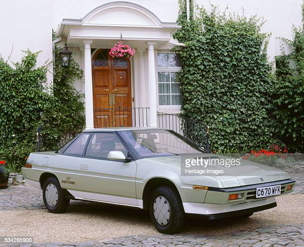 Subaru XT 4WD Turbo outside house 2000