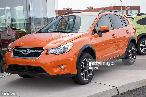 Subaru XV Crossover at Car Dealership