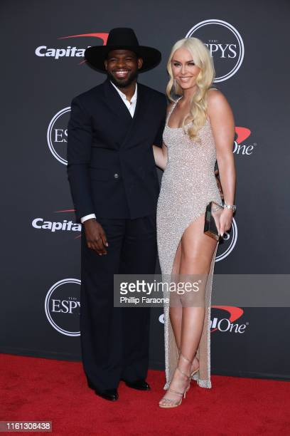 K Subban and Lindsey Vonn attend The 2019 ESPYs at Microsoft Theater on July 10 2019 in Los Angeles California