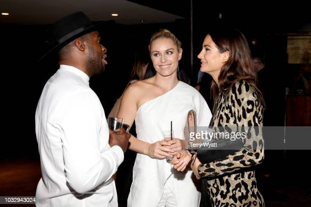 P K Subban Lindsey Vonn and Lily Aldridge attend the Nashville Creator Awards hosted by WeWork at Marathon Music Works on September 13 2018 in...