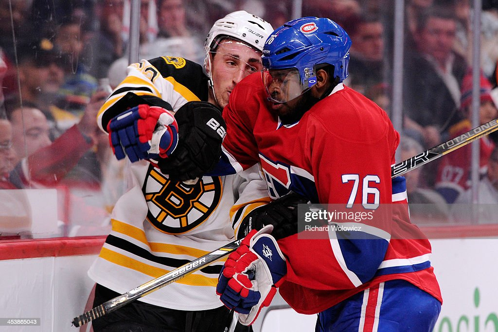 Boston Bruins v Montreal Canadiens : News Photo