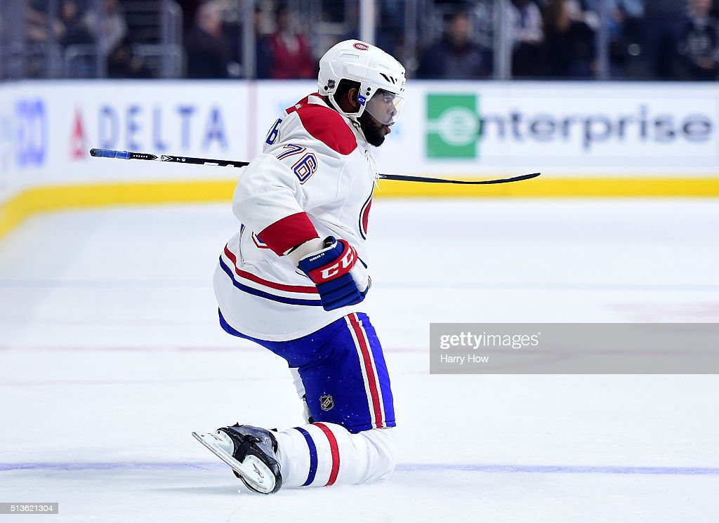 Montreal Canadiens v Los Angeles Kings : News Photo