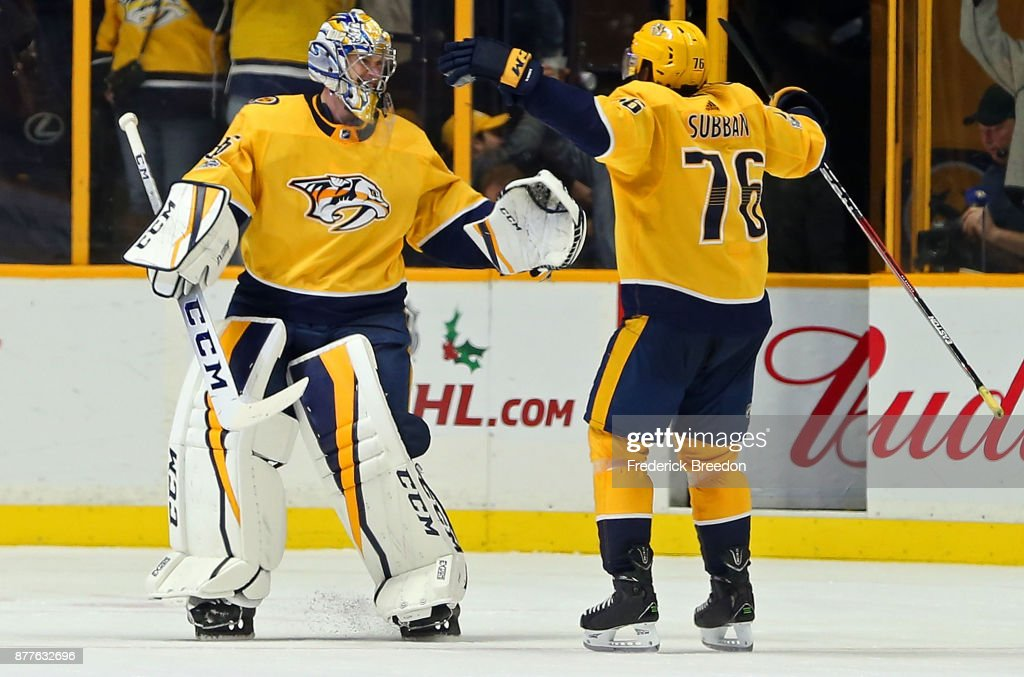 Montreal Canadiens v Nashville Predators : News Photo