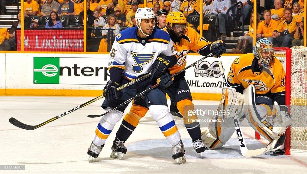 St Louis Blues v Nashville Predators - Game Three : News Photo