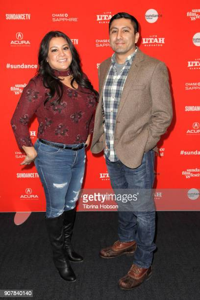 Subject Cindy Shank and Director Rudy Valdez attend 'The Sentence' Premiere at The Ray during 2018 Sundance Film Festival on January 20 2018 in Park...