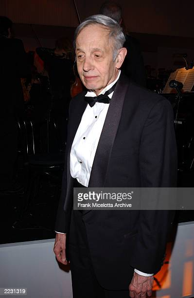 Subject of the file 'A Beautiful Mind' John Nash at the Governors Ball following the 74th Annual Academy Awards at the kodak Theater in Hollwood Ca...