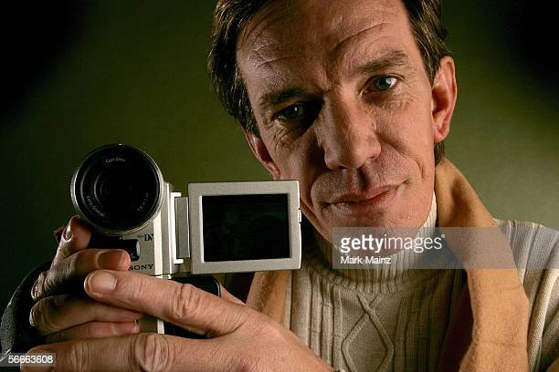 Subject Rick Kirkham of the documentary TV Junkie poses for a portrait at the Getty Images Portrait Studio during the 2006 Sundance Film Festival on...