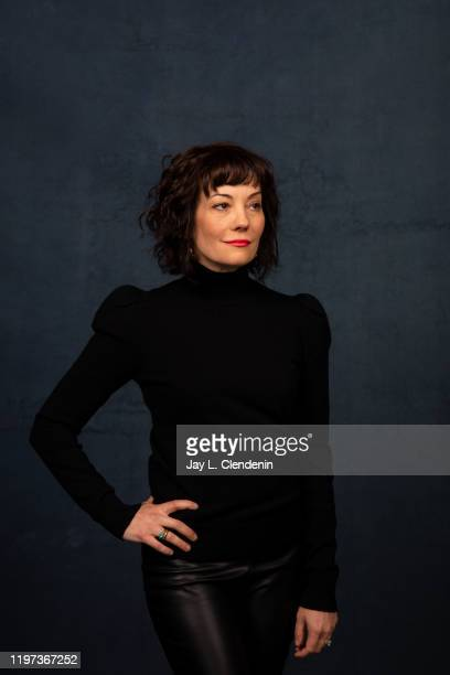 Subject/producer Natasha Gregson Wagner from 'Natalie Wood What Remains Behind' is photographed in the LA Times Studio at the Sundance Film Festival...
