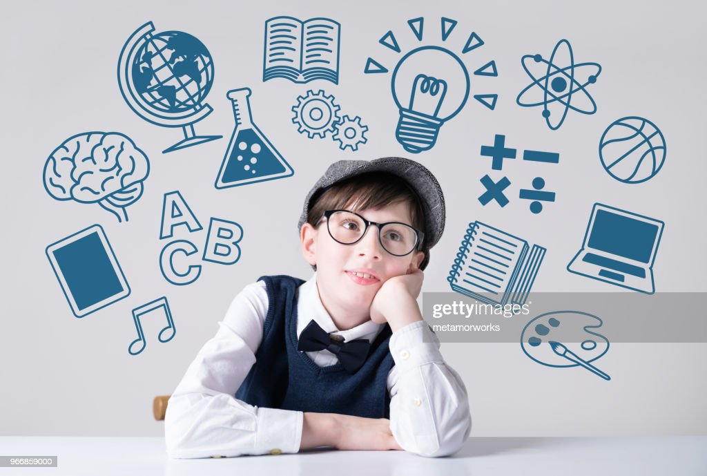 Subjects of school concept. : Stock Photo