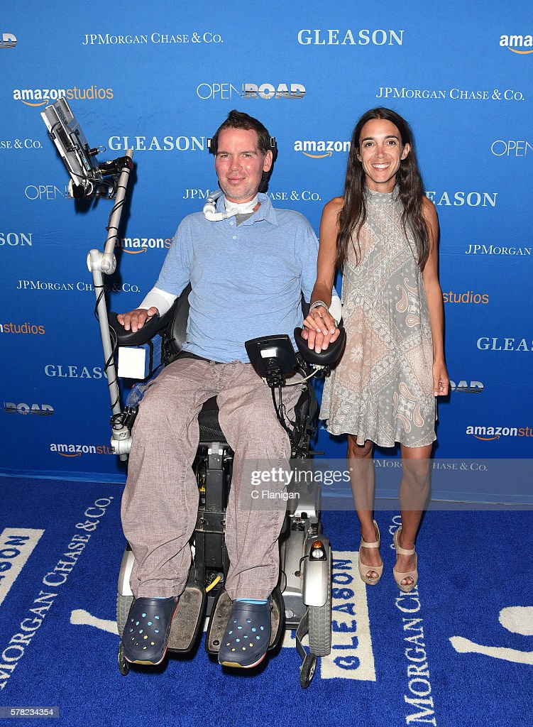 High Quality Subjects Steve Gleason And Wife Michel Varisco Gleason Attend The Special  Screening For Amazon Studios And