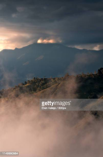 sublime horizon - nariño department stock photos and pictures