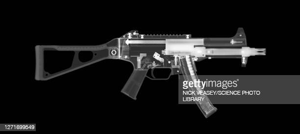 ump45 submachine gun, x-ray - ammunition stock pictures, royalty-free photos & images