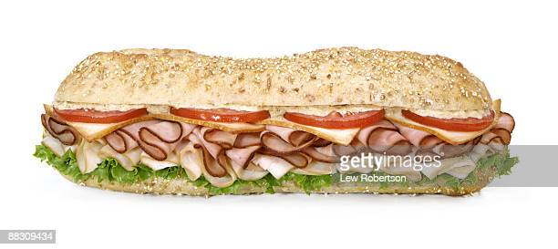 submarine sandwich - submarine stock pictures, royalty-free photos & images