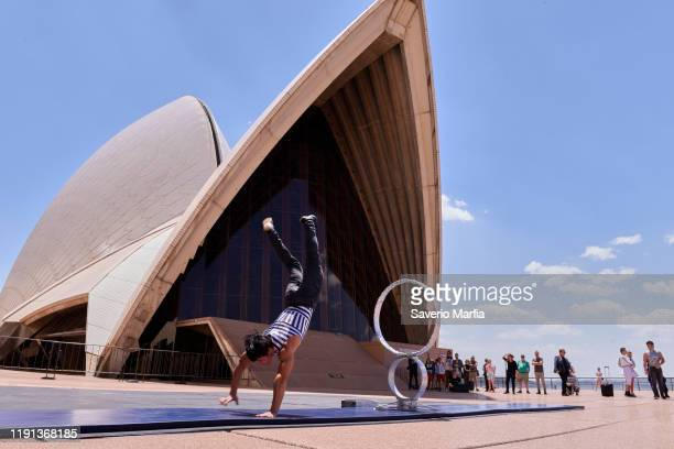 Submergence during a media preview of Cirque Stratosphere at Sydney Opera House on December 02 2019 in Sydney Australia