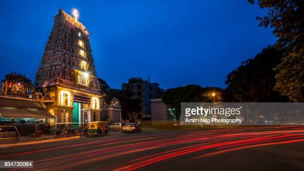 Subramanya Swamy temple at Sajjan Rao Circle, VV Puram, Bangalore