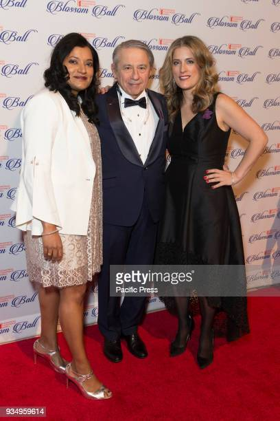Subrata De Dr Tamer Seckin Dr Sandra Gelbard attend Endometriosis Foundation of America 9th Annual Blossom Ball at Cipriani 42nd street