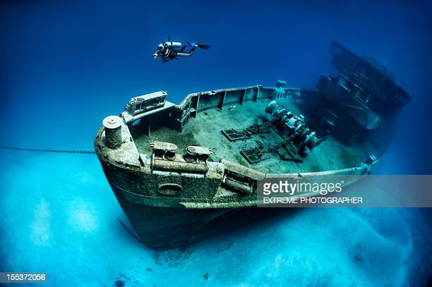 subron 6, kittiwake - shipwreck stock pictures, royalty-free photos & images