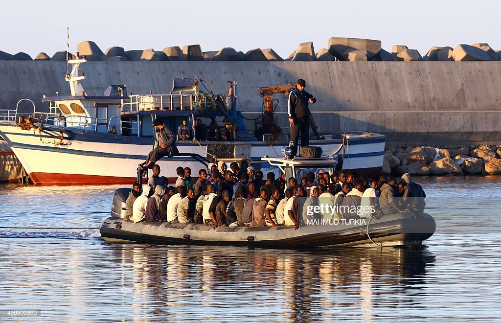 LIBYA-SOCIAL-IMMIGRANTS : News Photo