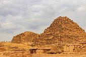 subsidiary pyramids giza pyramid complex cairo
