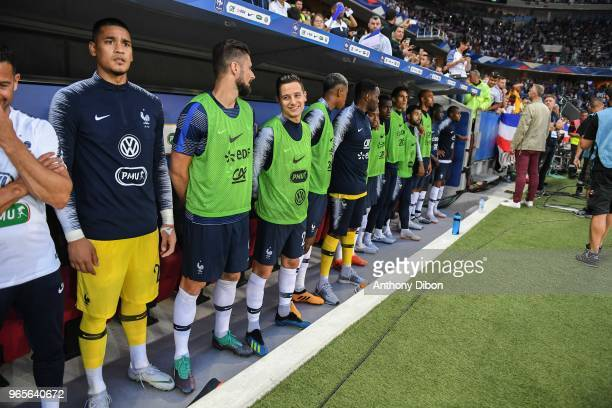 Substitute of France during the International Friendly match between France and Italy at Allianz Riviera Stadium on June 1 2018 in Nice France
