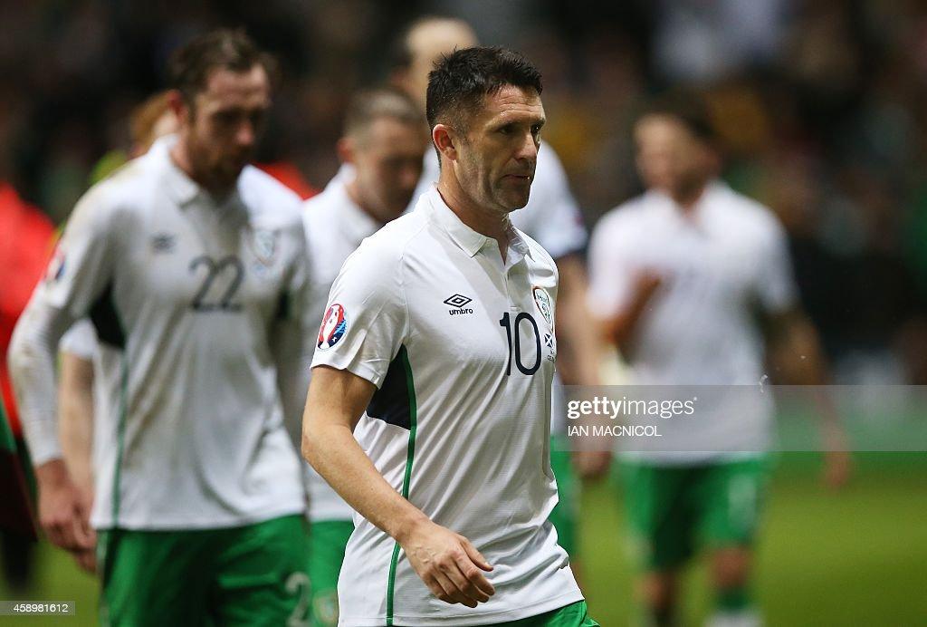 FBL-EURO-2016-SCO-IRL : News Photo