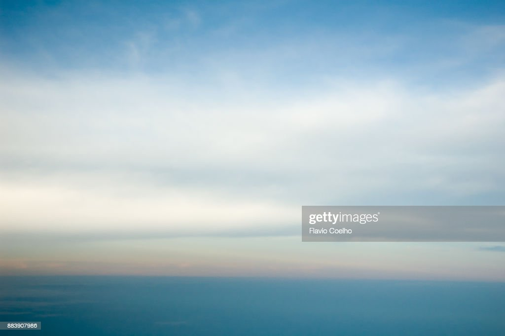 Subtle clouds : Stock Photo