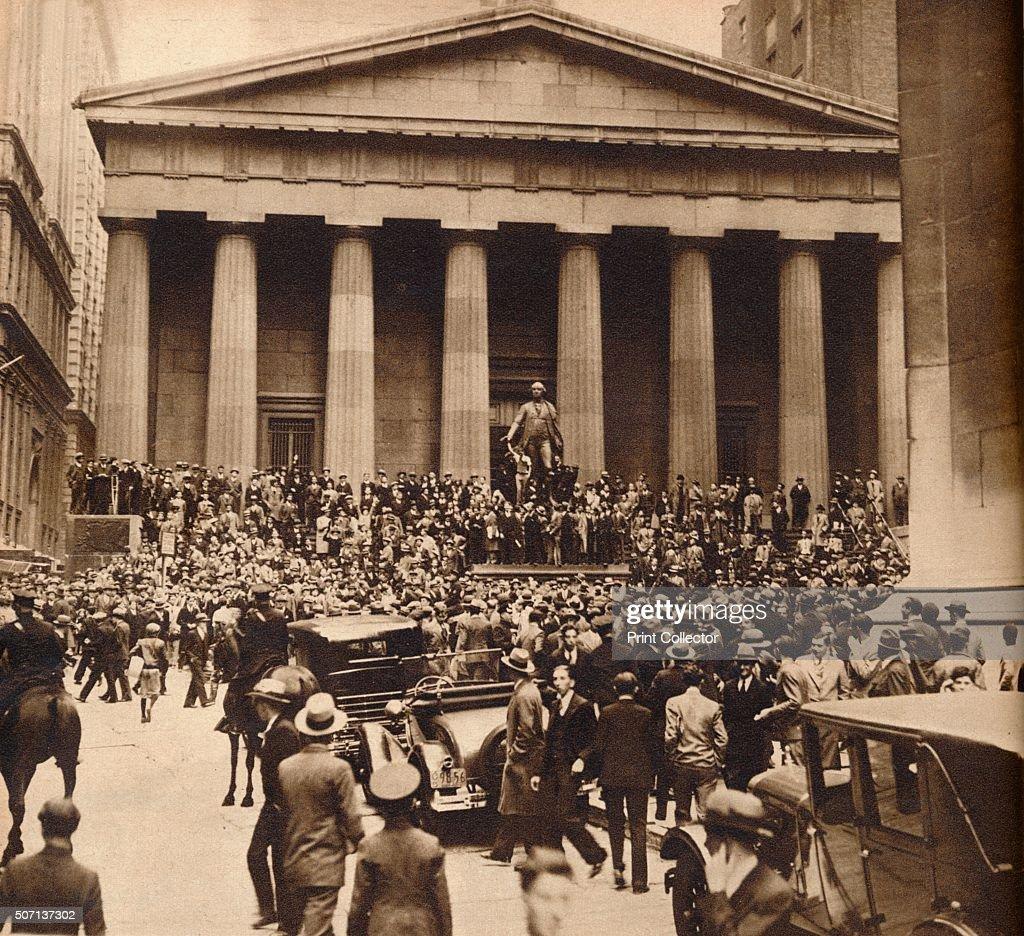 'Sub-Treasury', 1929, (1938) : News Photo