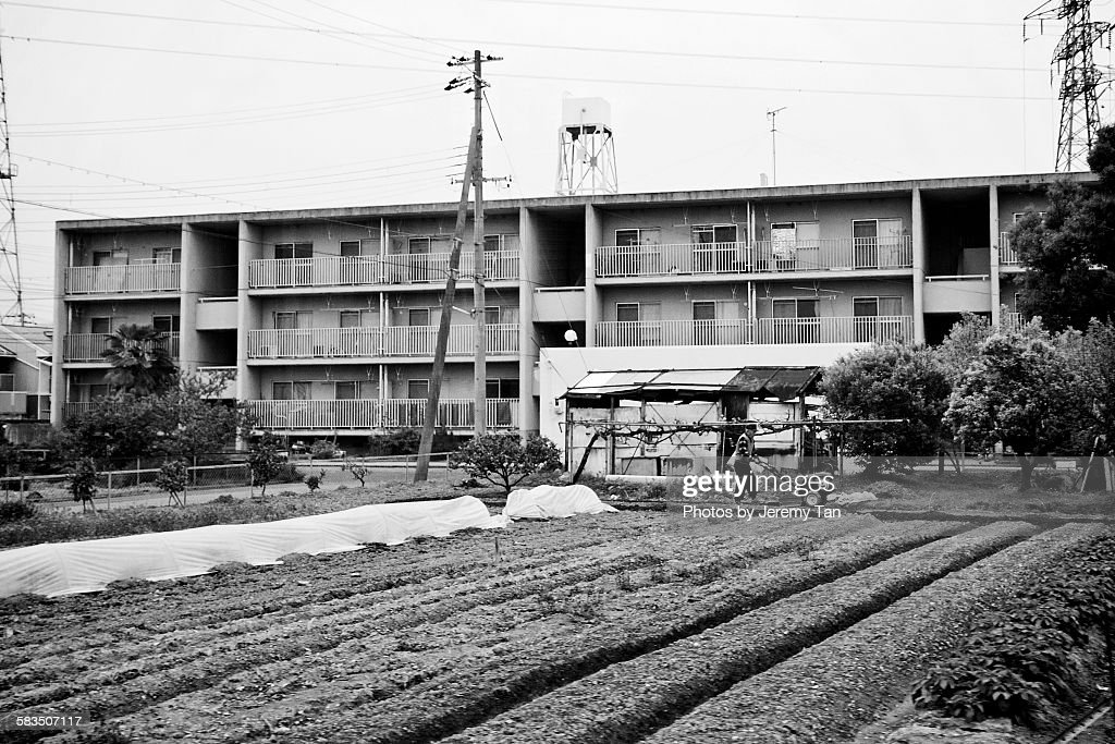 Suburb of Himeji, Kansai, Japan : Stock Photo