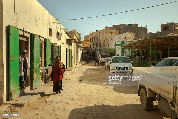 Suburb street view in the old part of Tripoli