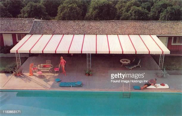 Suburban Backyard Pool