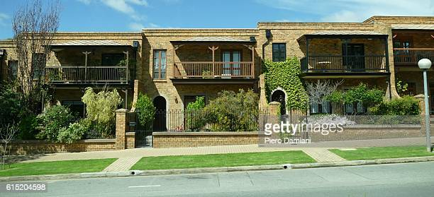 Suburban houses in Adelaide