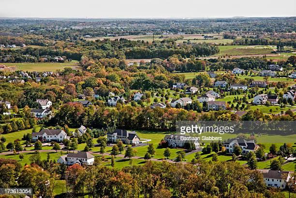 suburbano paisagem - pensilvânia - fotografias e filmes do acervo