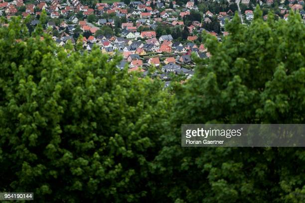 Suburban town is pictured on May 01 2018 in Goerlitz Germany