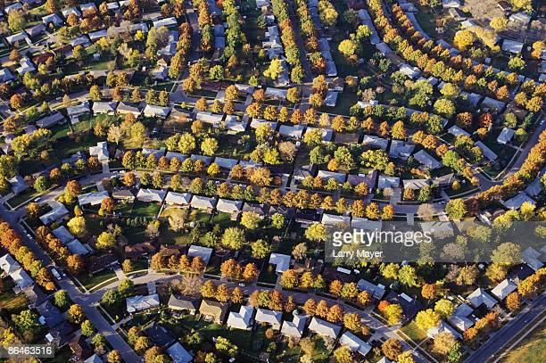 Suburbs in Nebraska