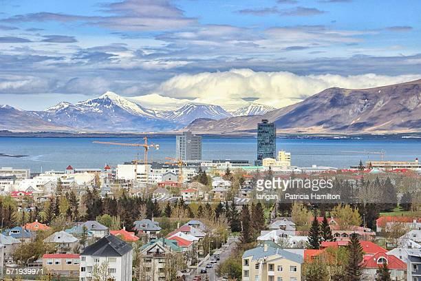 Suburbs of beautiful Reykjavik