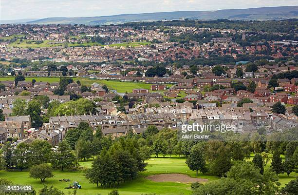 suburbs of bradford - bradford england stock pictures, royalty-free photos & images