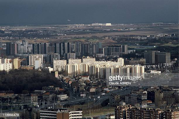 Suburbs of Paris In France On May 30 1994Roissy in the background Pleyel