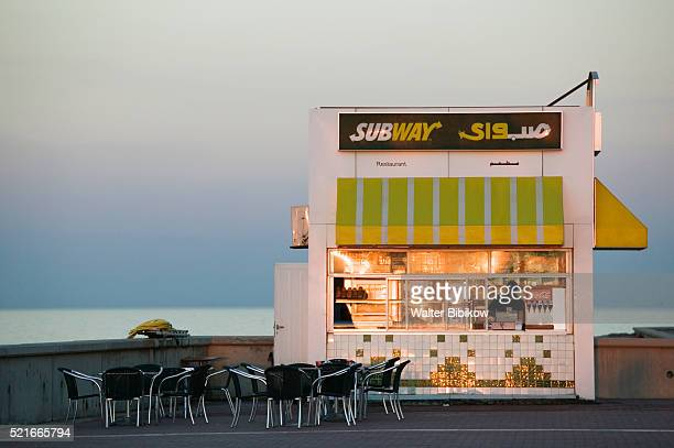 Subway Harborfront Restaurant at Sharq Souk Marina