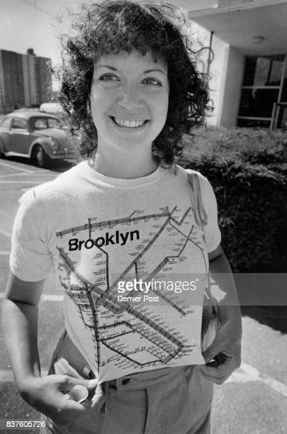Subway Map TShirt on Elen Tabak Shows many of the old neighbors Credit Denver Post