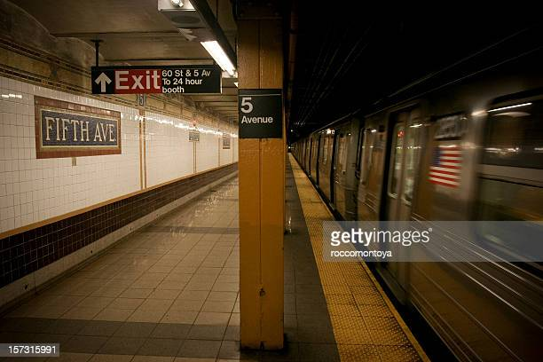 Subway , New York City, USA