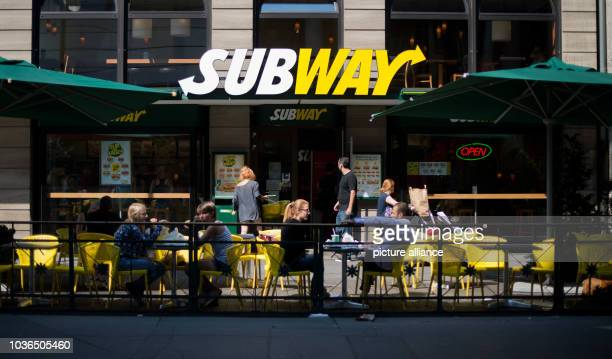 Subway shop in Hannover, Germany, 21 August 2015. The sandwich fast food chain will celebrate its 50th birthday on 28 August 2015. Photo: Julian...