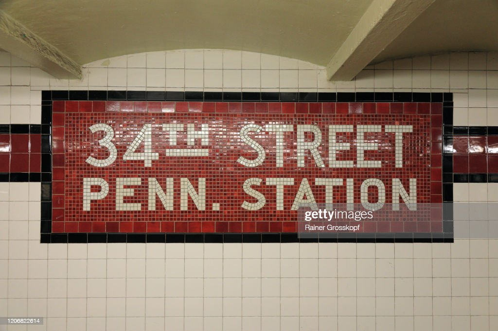 Subway Station Sign : Stock-Foto