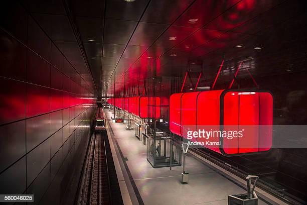 Subway station U4 HafenCity Universität