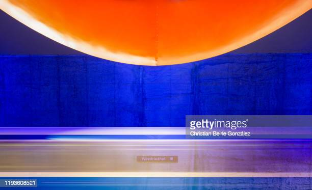 subway station westfriedhof, munich, germany - christian beirle gonzález stock pictures, royalty-free photos & images